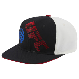 UFC Ultimate Fan Flat Brim Snapback Hat Multicolor BE6370