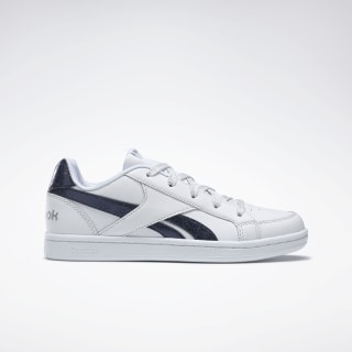 Reebok Royal Prime White / Navy / Silver Metallic DV9314