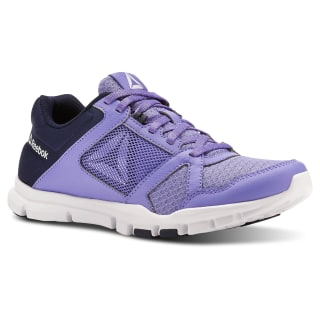 Reebok Yourflex Trainette 10 PURPLE / NAVY / WHITE / Grey CN5654