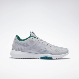 Reebok Flexagon Force 2.0 Shoes Cold Grey 2 / Clover Green / White EH2044