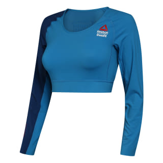 Майка Reebok CrossFit Compression Games Mendota Blue DM4015