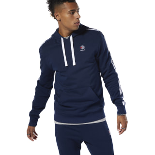 Classics Taped Hoodie Collegiate Navy DT8154