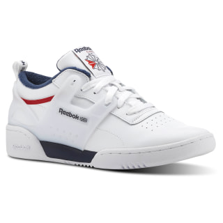 Tênis Workout ADV L WHITE/COLLEGIATE NAVY/PRIMAL RED CN4309