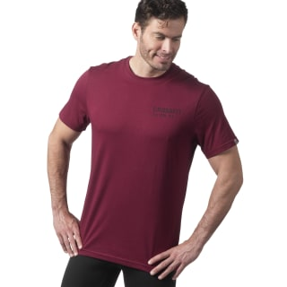 Camiseta Reebok CrossFit Mess You Up Red DH3689