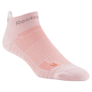 Reebok ONE Series Running Unisex Ankle Sock Pink / Atomic Red D68175
