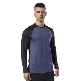 T-shirt à manches longues One Series Training Smartvent Heritage Navy DY8002