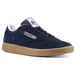 Club C 85 Indoor-Collegiate Navy / White / Gum CN3386