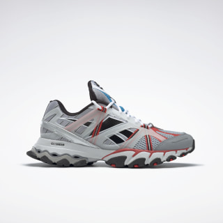 DMX Trail Shadow Shoes White / Cold Grey 2 / Radiant Red FW3406