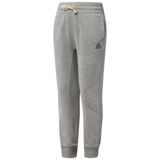 Girl's French Terry Sweatpants Medium Grey Heather CF4295