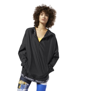 WOR Meet You There Woven Jacket Black DU4836