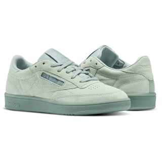 Club C 85 Lace Green / Seaside Grey / White BS6528