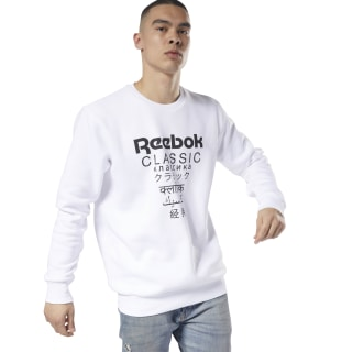 Classics Unisex Fleece Crew - International White DJ1892