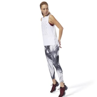 Lux Bold 7/8 Legging - Chalked Movement Black CY4933