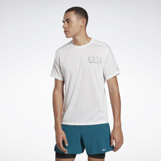 One Series Running Reflective Move Tee White FL0114
