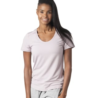 T-shirt Workout Ready Speedwick Lavender Luck D95075