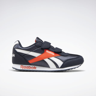 Reebok Royal Classic Jogger 2.0 Shoes Collegiate Navy / Vivid Orange / White EF3719