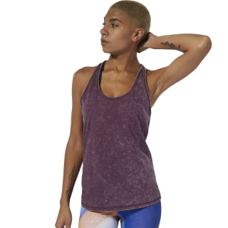 Camiseta sin mangas Dance Washed Infused Lilac DU4496
