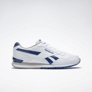 Reebok Royal Glide S Clip White / Team Dark Royal / Carbon / Steel AQ9166