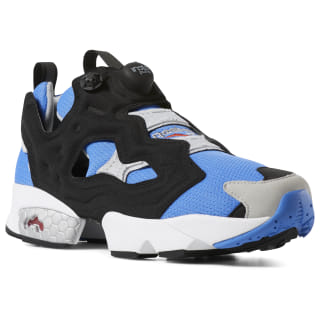 Кроссовки InstaPump Fury OG ECHO BLUE/BLACK/STEEL/MATTE SILVER/WHITE/RED M48756