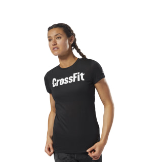 Спортивная футболка Reebok CrossFit Speedwick F.E.F. black/white DH3712