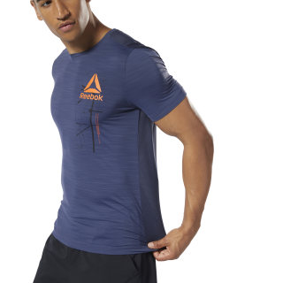 Camiseta Workout Ready ACTIVCHILL Graphic Heritage Navy DY7799