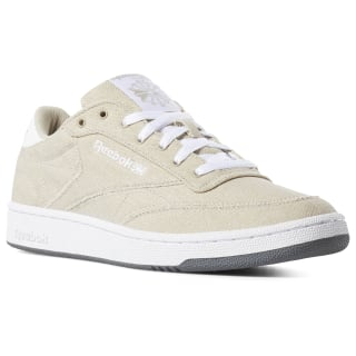 Club C 85 Canvas Shoes Light Sand / White / Grey DV4174