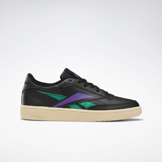 Club C 85 Women's Shoes Black / Emerald / Grape Punch DV7251