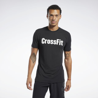 Remera Reebok CrossFit® Read Black / White FK4309