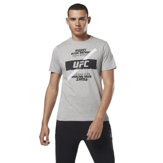 Camiseta UFC Fan Fight For Yours Medium Grey Heather DQ2006