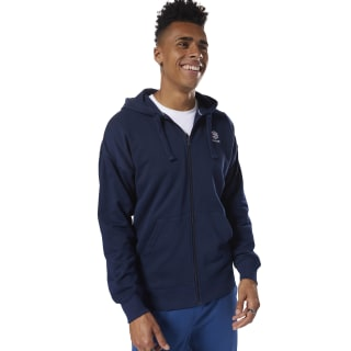 Classics Foundation Full-Zip Hoodie Collegiate Navy DH2112