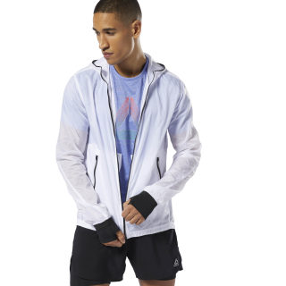 Chaqueta Running Wind Protection White DP6505