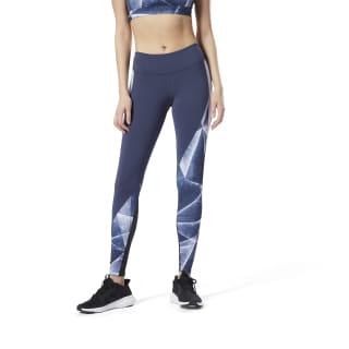 Reebok Lux Tights 2.0 - Shattered Ice Heritage Navy EC1125