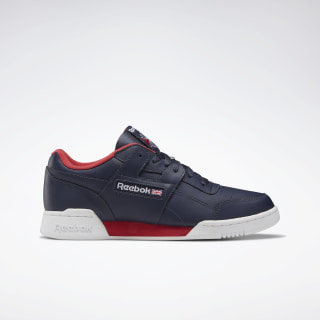 Кроссовки Reebok Workout Plus heritage navy/white/rebel red DV8750