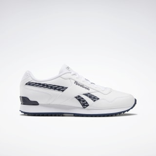 Reebok Royal Glide Ripple Clip White / Collegiate Navy / None EF7708