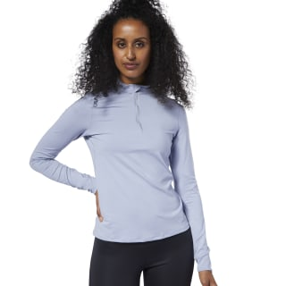 Лонгслив One Series Running Thermowarm Quarter Zip Purple/denim dust EC2971