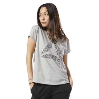 Graphic Series Aerowarm Easy Tee Medium Grey Heather EC2056