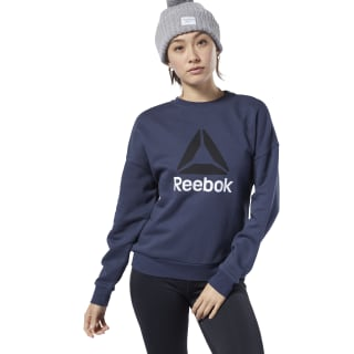 Sweat avec grand logo Workout Ready Heritage Navy EC2372