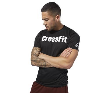 Reebok CrossFit Speedwick F.E.F. Graphic Tee Black / White DH3702