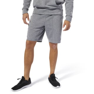 WOR KN SHORT - MEL DBL KN Medium Grey Heather DP6153