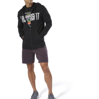 Sweat à capuche et zip Reebok CrossFit® Black DU4614