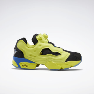 Awake Instapump Fury OG Shoes Black / Vital Blue / Solar Green FW7488