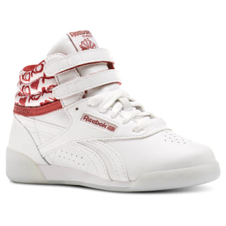 Tenis Freestyle Hi Hearts WHITE/POWER RED/SILVER METALLIC CM9190