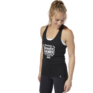 Reebok CrossFit® Open Crest Tank Top Black DY0479