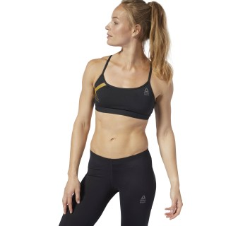 Reebok CrossFit Skinny Bra - Graphic Black D94935