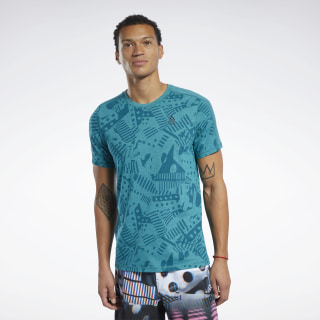 Camiseta Reebok CrossFit® Move Seaport Teal Mel FJ5286