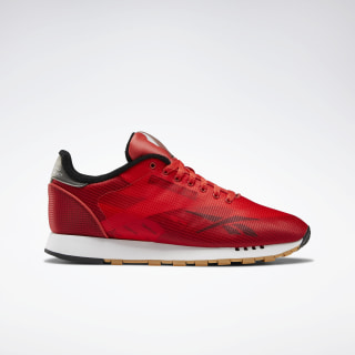 Classic Leather ATI Shoes Radiant Red / Black / Cold Grey 7 EH0129