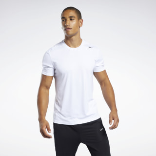 Workout Ready Polyester Tech Tee White FP9097