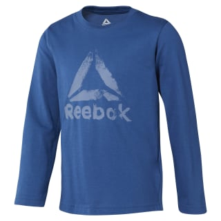 Boys Elements Longsleeve Bunker Blue DH4342