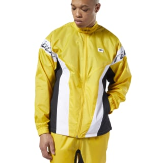 Chamarra Classic Leather A toxic yellow EC4582