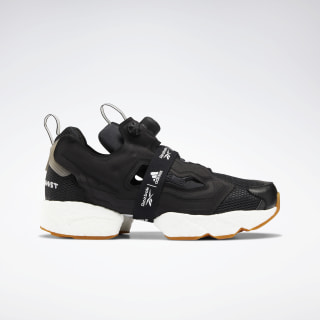 InstaPump Fury Boost Shoes Black / White / Reebok Rubber Gum-06 FU9239
